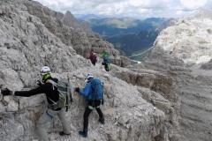 Via ferrrata Dolomiti