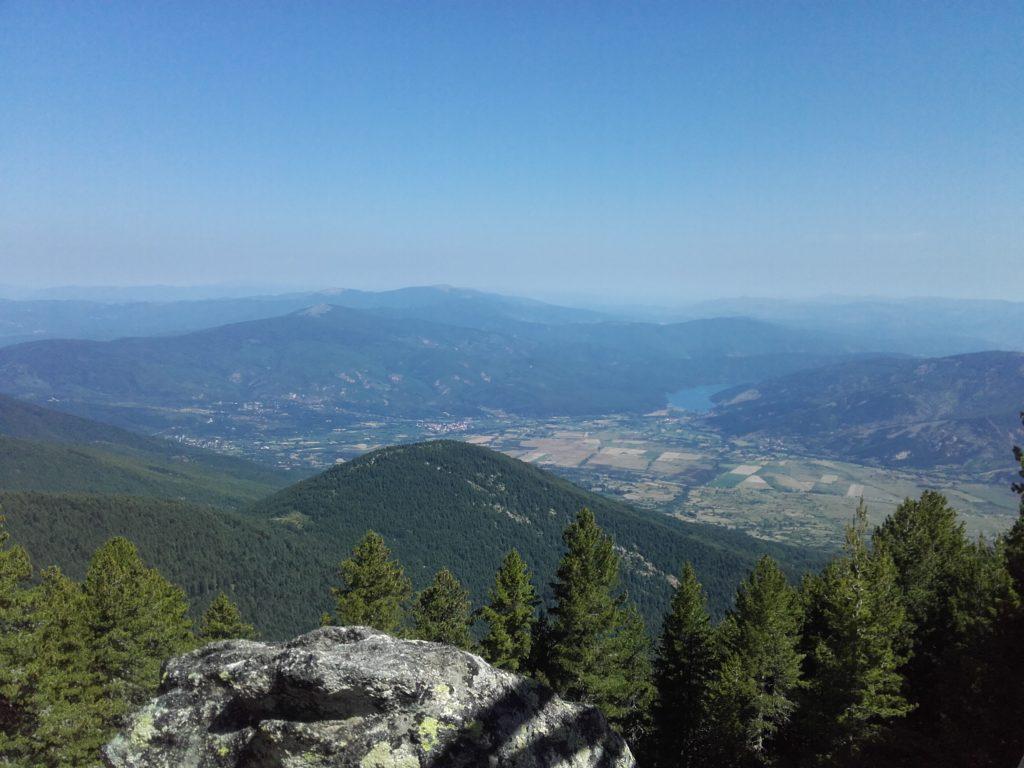 Pelister - vidikovac na Prespansko jezero