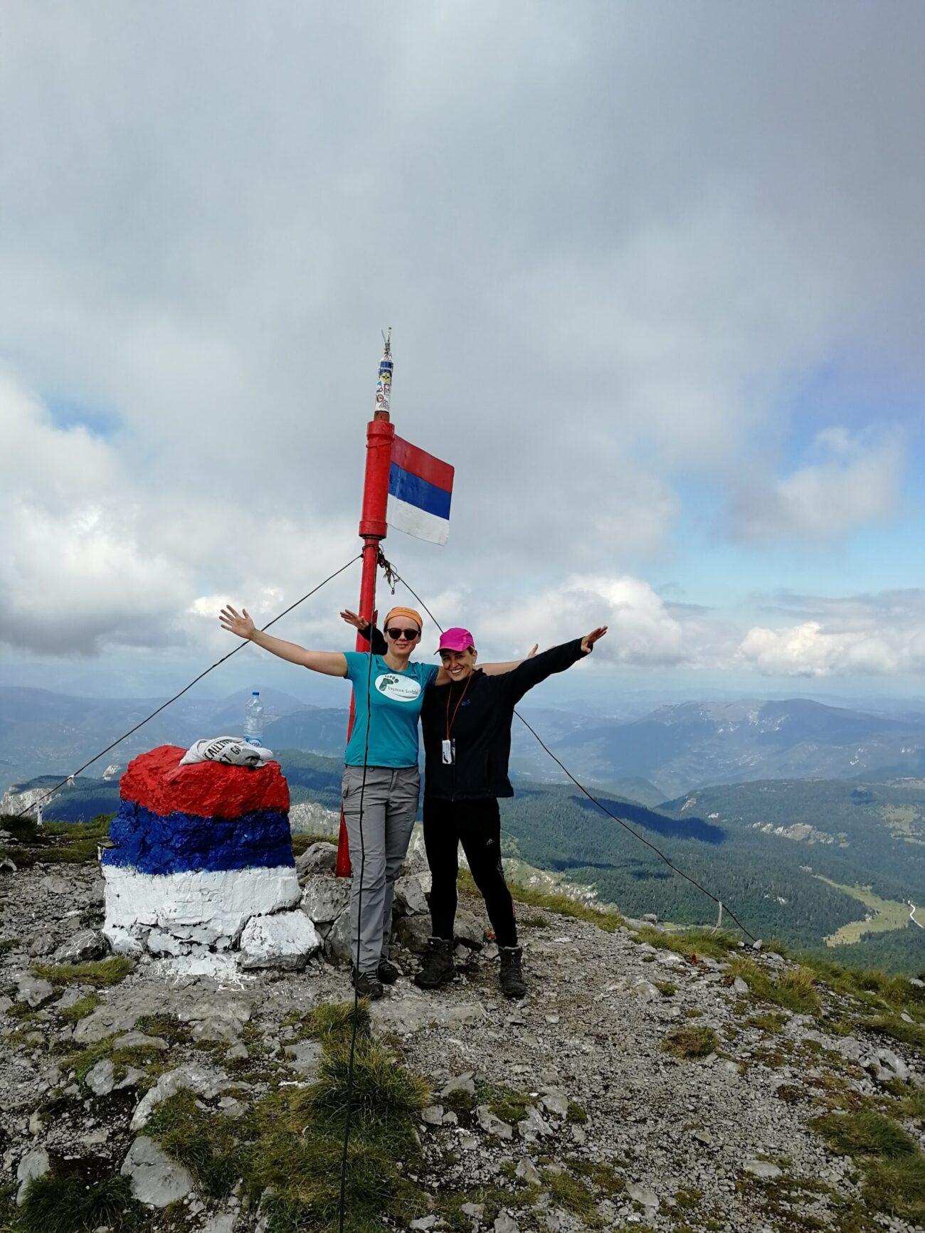 Maglić - najviši vrh BIH 2386 m Nacionalni park Sutjeska