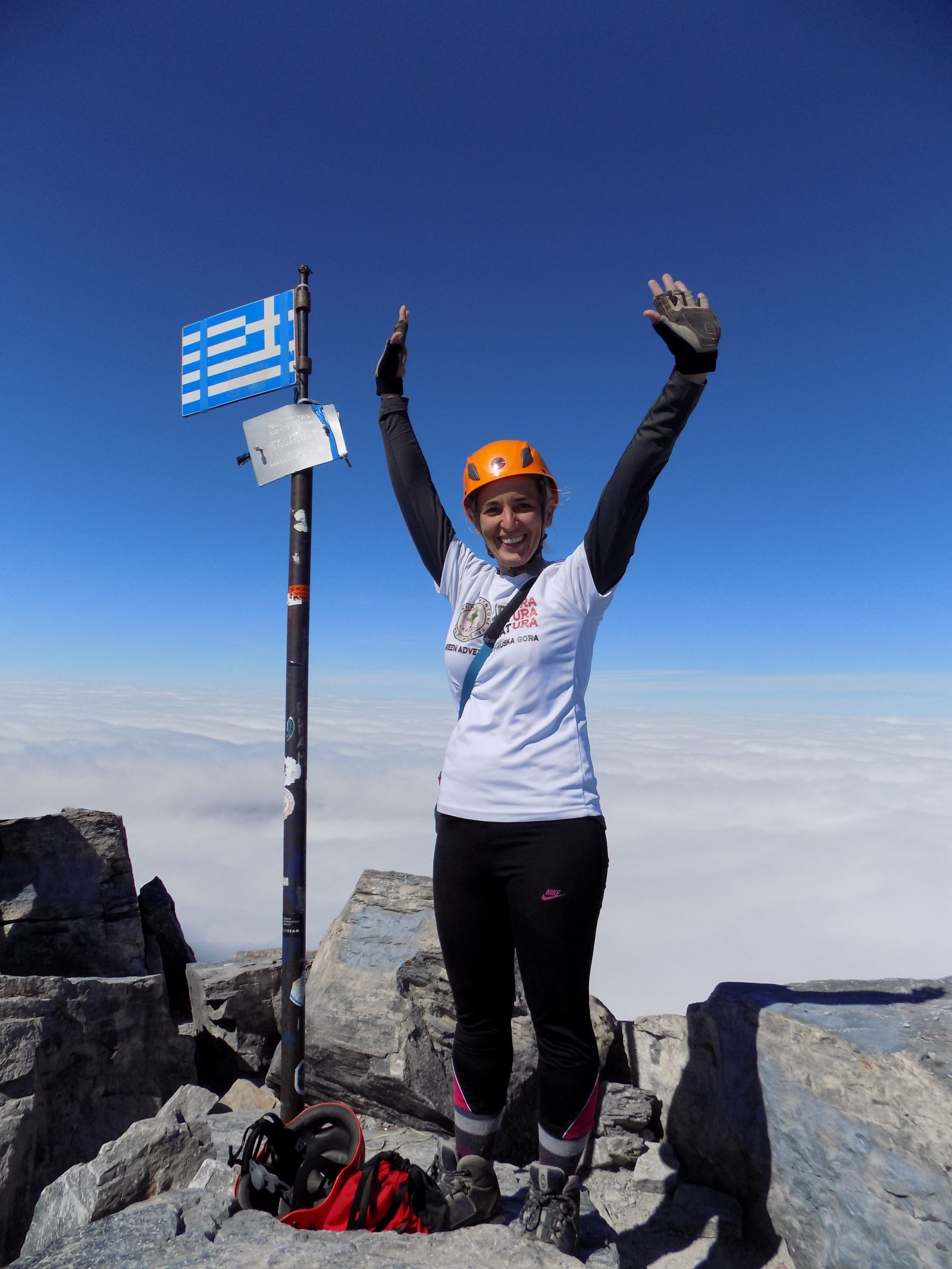 Olimp, vrh Mitikas 2918 m